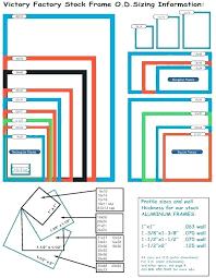 Photograph Sizes Chart Digital Photo Frame Size Myhomeopath Co