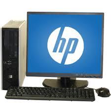 desk top. Exellent Desk Refurbished HP 7800 Desktop PC With Intel Core 2 Duo Processor 4GB Memory  19 To Desk Top C