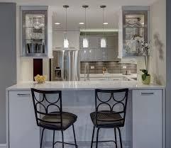 Condo Kitchen Contemporary Chic Condo Kitchen Drury Design Miserv