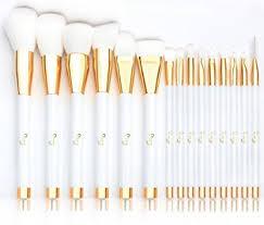 makeup brushes qivange professional synthetic vegan make up brushes foundation blush eyeliner eyeshadow makeup brush