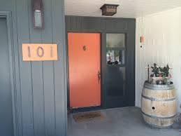 mid century modern front door for homes