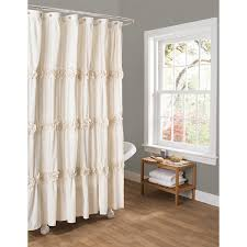 Amazon.com: Lush Decor Darla Shower Curtain, 72 by 72-Inch, Ivory: Home &  Kitchen
