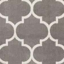 ottomanson paterson collection contemporary moroccan trellis design lattice area rug 5 3 x7 0 grey ottomanson