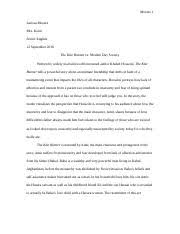 the story of an hour questions and essays calderon alexandra 6 pages kite runner vs modern day society