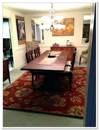 area rug under kitchen table dining room rugs medium size of living dining room rug rug