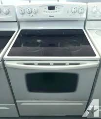 amana glass top stove double oven electric stove glass top including warranty double oven gas range amana glass top stove