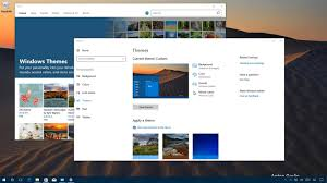 Windows Fall Theme How To Use Themes On The Windows 10 Creators Update