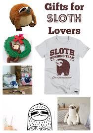 gifts for the sloth lover