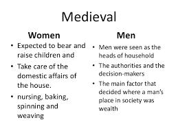 gender roles 3 16th century