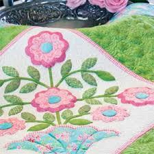 Fancy Flowers: Floral Appliqu Wall Quilt Pattern - The Quilting ... & Fancy Flowers: Floral Appliqu Wall Quilt Pattern Adamdwight.com