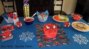 boy mama teacher mama spiderman party 14 jpg