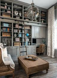 decorating home office. Office Bookshelf Decorating Ideas Gray Home And Library With Shabby Chic Decor Rustic Pray Heritage .