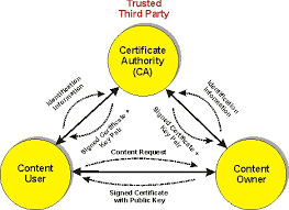 Drm Digital Certificate Definition And Diagram