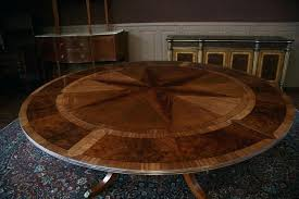 expandable round dining tables brilliant expanding round table plans plans mechanical lumber great expandable round