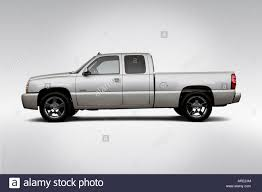All Chevy chevy 1500 ss : 2006 Chevrolet Silverado 1500 SS in Silver - Drivers Side Profile ...
