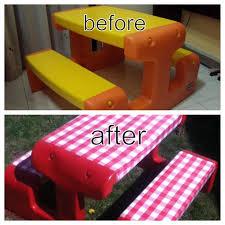 my little tikes picnic table redo
