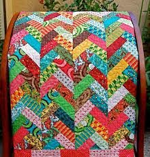 61 best Quilts - Braids images on Pinterest | Braid quilt ... & Scrappy braid quilt. Adamdwight.com