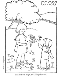 Small Picture May Activity Pages Coloring Coloring Pages