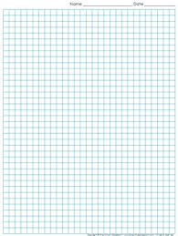 Graph Paper Full Page Grid Quarter Inch Squares 29x38 Boxes