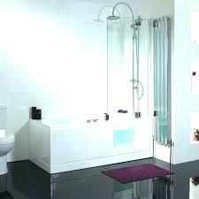 corner tub bathtub enclosures bathtubs idea tubs and showers walk in with glass door doors corner tub