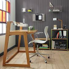 Modern Wooden Home Office Desk 20 Stylish Home Office Computer Desks: Furniture Design Pinterest