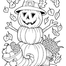 coloring pages free autumn and fall coloring pages