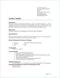 Current Resume Format Best 669 Most Accepted Resume Format Sarahepps