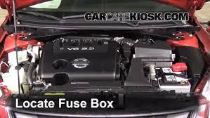 replace a fuse 2007 2013 nissan altima 2011 nissan altima sr 3 5l 2012 nissan altima fuse box diagram at 2011 Nissan Altima Fuse Box