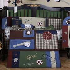 sport crib bedding set home ideas