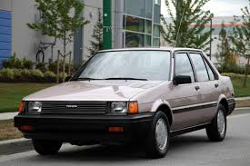 KIDNEY, ANYONE? 10,000-mile 1984 Toyota Corolla LE | Japanese ...