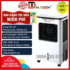 Bảo hành tại nhà] Quạt điều hòa làm mát hơi nước kháng khuẩn không mùi 35L  H-TECH Đạt Tường, Chính hãng Viêt Nam