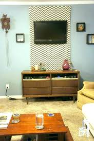 hide cable box how to hide cables cable box mount behind with a fabric panel wall