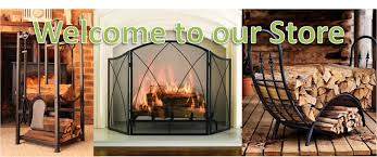link to our log storage fireplace accessories s