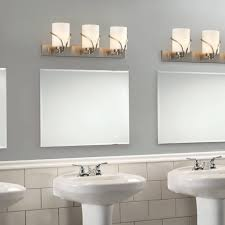 bathroom lighting above mirror. Wall Lights: Light Washroom Fixture 3 Brushed Nickel Vanity Lights Over Bathroom Lighting Above Mirror
