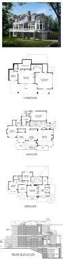 Shingle Style COOL House Plan ID: chp-39334 | Total Living Area ...