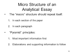 the analytical essay ppt video online micro structure of an analytical essay