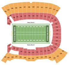Albertsons Stadium Seating Chart Buy Boise State Broncos Tickets Front Row Seats