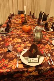 Marvelous Dining Room Designs With Simple Thanksgiving Table : Mesmerizing  Decorating Ideas Using Rounded Orange Pumpkins