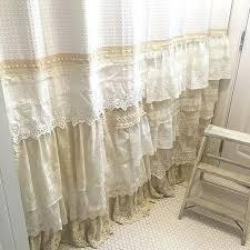 vintage lace shower curtains my bohemian bathroom with vintage lace home vintage lace shower curtains uk