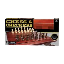 deluxe chess checkers set with tournament size folding wood board com