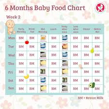 Year Baby Food Online Charts Collection