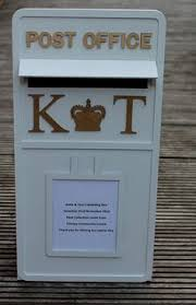 How To Decorate A Wedding Post Box This is my beautiful white wedding post box which is available to 30