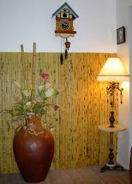 Brown Painted Bathrooms Bathrooms Contemporary Deep Brown Painted Bamboo Wall Panels