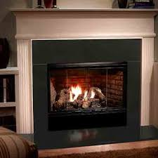majestic reveal open hearth b vent gas fireplace radiant unit with intellifire