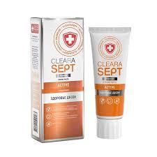 <b>Зубная паста</b> ClearaSept ACTIVE <b>Здоровье десен</b>, 75мл - купить ...