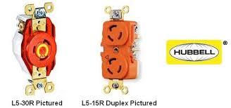 Hubbell Twist Lock Receptacles