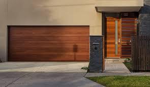 garage door wood lookAwesome 60 Wood Look Garage Door Design Decoration Of Custom