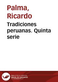 tradiciones peruanas quinta serie