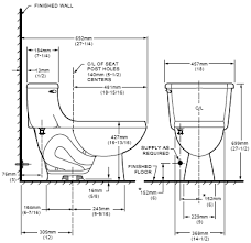 elongated toilet bowl dimensions. high hamilton right height™ elongated toilet » vitreous china one-piece with unique space-saving feature features higher 16-13/16\ bowl dimensions w