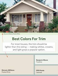 The Most Popular Exterior Paint Colors  Life At Home  Trulia Blog - House exterior trim